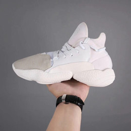 759a0c0bc95b0 Y3 High Top Shoes Canada - Kanye West Y-3 NOCI0003 Red White Black High