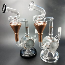 $enCountryForm.capitalKeyWord NZ - Glass Recycler Bongs Cyclone Bong Heady Bubbler Pipe Vortex Water Pipes tornado oil rig dab rigs with 4mm thick quartz banger