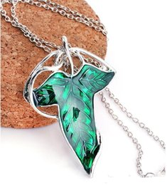 lord rings movies 2021 - New Hot Movie Film The Lord Of The Rings Elven Leaf Pendant Arwen Evenstar Pendant Amphibious Christmas Gift a622