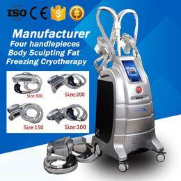 $enCountryForm.capitalKeyWord Canada - 4 Heads Fat Freeze Machine Cryo Lipolysis Weight Loss Cryo Therapy Body sculpting Fat Freezing Liposuction Slimming Salon Equipment
