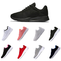 Discount outdoor sports lighting 2018 TANJUN red white with white black with pink London Olympic Runs Outdoor Men Women Classic Sports Running Shoes Fash