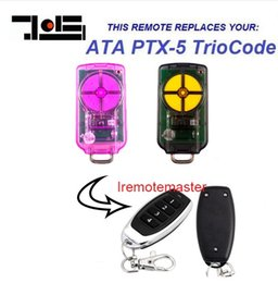 AtA lock online shopping - high quality For ATA PTX v1 Triocode Rolling Code Remote replacement mhz
