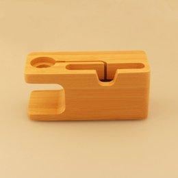 1 stücke Bambus Ladestation Station Ladegerät Halter Stehen Für Apple Watch iWatch iPhone Stifthalter Holz Federmäppchen Wohnkultur