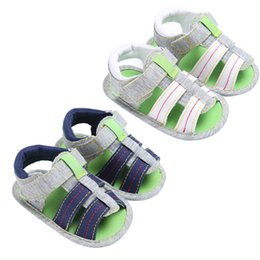 $enCountryForm.capitalKeyWord Australia - Baby Canvas Summer Shoes Toddler Kids Casual Antislip Baby Boy Girl Sandals Infant Soft Soled Shoes