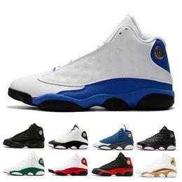 4197218f91c Hyper Royal Basketball Shoes 13 13s Grey Toe Chicago History Of Flight  Chicago He Got Game Phantom bred Black Cat men sports shoes
