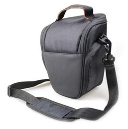 Dslr Cameras Bags Australia - Professional Waterproof Camera Bag Protective Shoulder Bag Triangle Cover Case Bag For DSLR Camera For Canon DSLR EOS For Nikon