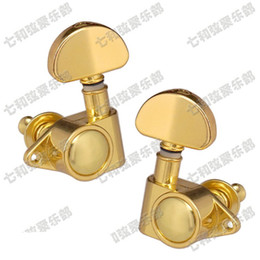 online shopping 6PCS set golden guitar accessories for acoustic guitar strings button Tuning Pegs Keys Tuner Machine Heads Guitar Parts