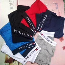 Women mens underWear online shopping - Man Sexy Underwear Pure Straight Four Angle Underpants Of Large Number Goods In Stock Cotton Blend Mens Briefs Pouch