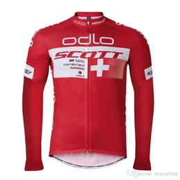 2018 Pro Team scott Long Sleeve Cycling Jersey Mtb Bicycle Tops Spring Autumn  Men Breathable Mountain Bike Wear Cycling Clothing F2804 fe0807bbc