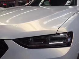 Hot Sales 1.52 * 18m Alto Flexible Perla Brillante Blanco-Dorado Cambio de color Camaleón Película de vinilo envoltura para automóvil en venta