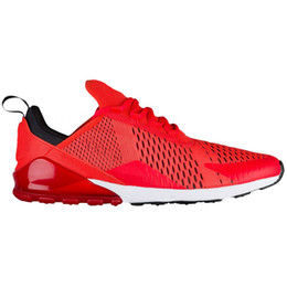 sport shoes black colour 2019 - New 270 Men Running Shoes Sneakers Women Run Trainers Racer Wmns Sports Trainers 270 Habanero Red Most Colours For Vip C