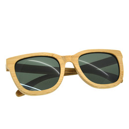 SunglaSSeS man polariSed online shopping - BEDATE G003A Polarised Wooden Sunglasses Wood Frame Sunglasses with UV Blocking Polarized Lens Multicolor