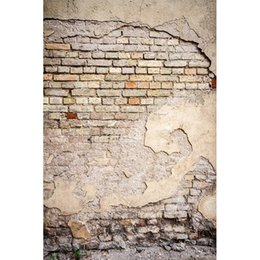 vinyl backdrops bricks 2018 - 5x7ft Vinyl Photography Background Brick Wall Wedding Backdrop Children Photo Background for photo Studio f-1351 discoun