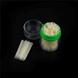$enCountryForm.capitalKeyWord Australia - 200pcs Korean Crystal Corn Starch Toothpick Mondadientes Edible Eco-Friendly with Plastic Box Hot Sale