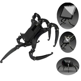 13 Tablets Australia - Universal Tablet Stand SIX-legged Spiders Tripod Multifunction Mobile Phone Holder Foldable For 3.5-13 Inch Phone Laptop Camera Tablet