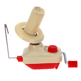 Swift acceSSorieS online shopping - Handheld Yarn Winder Swift Fiber String Ball Wool Winder Holder Practical String Winding Machine Sewing Accessories