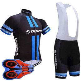 2018 Giant cycling Team jersey gel pad bike shorts ropa ciclismo mens summer  Tour Bicycling Maillot Culotte clothing set 10513J 242bf6649