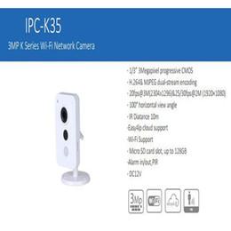 Ipc Free Canada - In Stock Free Shipping DAHUA Security IP Camera WIFI Camera CCTV 3MP K Series Wi-Fi Network Camera Without Logo IPC-K35