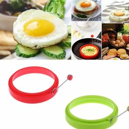 $enCountryForm.capitalKeyWord NZ - Hot Sale Silicone Omelette Mould Fried Egg Pancake Ring Fried Egg Round shape Egg Mold Cooking Mould Breakfast Essential