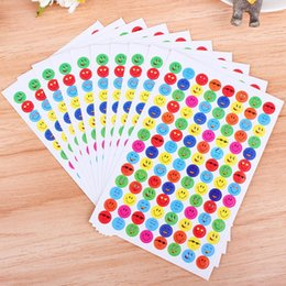 $enCountryForm.capitalKeyWord Canada - 10pcs Pack Kids Children Smile Face Reward Stickers Colorful Toy Stickers School Teacher Merit Praise Class Sticky Paper Label