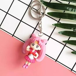 AmericAn girl cAr online shopping - American Girl Warrior Key Ring Water Ice Moon Car Pendant Key Ring Key Chains For Men And Women Birthday Gifts