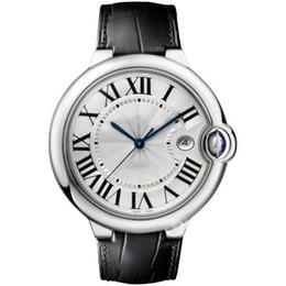 Chinese  New Ballon Watches Men Top Luxury Brand Watch Genuine Leather Lovers Watch Women Ladies Dress Watch Quartz Fashion 42mm 36mm 28mm Gift manufacturers