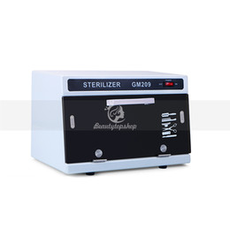 Sterilizer Salon online shopping - Nail Tool Sterilizer Household High Temperature UV Disinfection Nail Tool Sterilizer Box Cabinet For Salon Nail Equipment