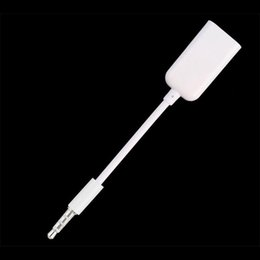 Discount new blackberry - 3.5mm Male AUX Audio Plug Jack To USB 2.0 Female Converter Cord Cable Car MP3 2018 New