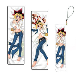 $enCountryForm.capitalKeyWord Australia - Yu-Gi-Oh! Game Keychain Figure Pillow Mini Dakimakura Key Chain Phone Strap Drop Ship Wholesale Lot