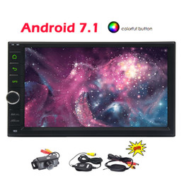 russian speakers Canada - Android 7.1 Car Stereo System 7'' Double 2 Din Car Video Player Autoradio Bluetooth GPS Navigation Capacitive ToucScreen Car PC Octa core