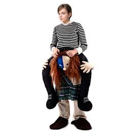 $enCountryForm.capitalKeyWord Canada - Free Shipping Halloween Ride On Monkey Gorilla Ape Riding Shoulder Costume Cosplay Animal Pants Human Legs Cosplay Fancy Dress