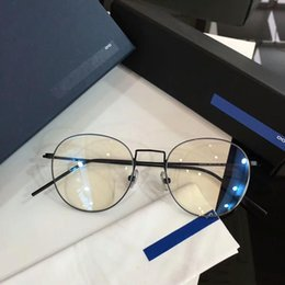 68171df137 9580GT designer glasses frame clear lenses without screw Luxury glasses for  men brand eyeglasses frame air titanium eyewear frames