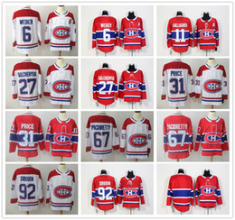 63d27519e Montreal Canadiens Jersey Shea Weber Brendan Gallagher Alex Galchenyuk  Carey Price Max Pacioretty Jonathan Drouin Ice Hockey Winter Classic