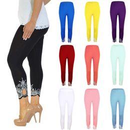 eb177901b01505 Sexy Women White Leggings Canada - Hot S-5XL Plus Size Leggings Woman Sexy  Lace