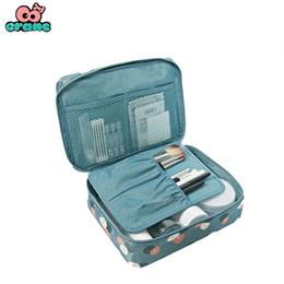 High Makeup NZ - Eranc Organizer Storage Bag high quality Bag Female waterproof Cosmetic MakeUp travel organizer for toiletries toiletry kit