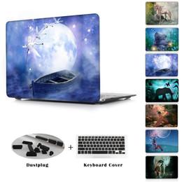 Macbook Retina 13 Inches Australia - Wonderland fairy tale world girl printed Case For Apple macbook Air Pro Retina 11 12 13 15 laptop bag For Mac book 13.3 inch