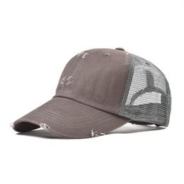 Net Caps Australia - VOBOOM Baseball Cap Men Women Trucker Hat Boy Girl  Summer Mesh Net 85e52145359d