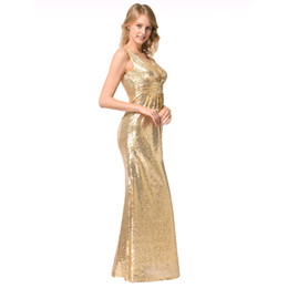 Wholesale misshow for sale - Group buy MisShow Women Sparkly Rose sexy Gold Long Sequins Bridesmaid Dress Prom Evening Gowns Evening Party Gowns Cheap under
