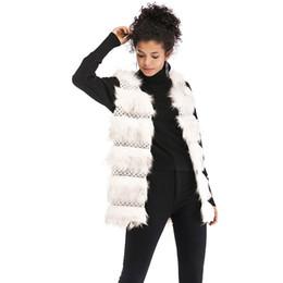 Imitation Clothing NZ - Women's clothing, plush, imitation fur, vest, warm and loose coat.