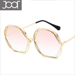 7fee54dac2c Fashion Sunglasses Women Men Brand Designer Metal Gold Frame Unique High  Definition Lens UV400 Sun Glasses Outdoor Eyewear with Box