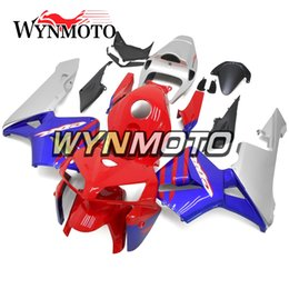 Honda F5 Canada - Red Blue Silver Fairings For Honda CBR600RR F5 2005 2006 Year 05 06 Injection Mold Body Kits Motorcycle Fairing Bodywork Bodywork Carenes