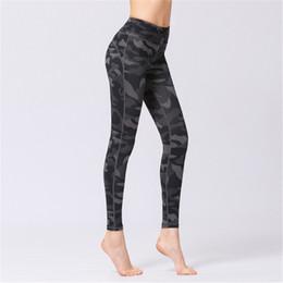 Digital printing yoga pants online shopping - Womens Camo Digital Print Yoga Pants Running Riding Sports Trousers Fitness Workout Leggings Super Elastic Ladies Cropped Pants Slim Tights