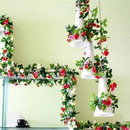 "$enCountryForm.capitalKeyWord Canada - Artificial Rose Garland Silk Flower Vine Ivy Wedding Garden Party Décor 51""Ivy Vine with Green Leaves"