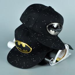 batman ball cap 2019 - 2018 Fashion Superman Batman Snapback Hats For Men Women Summer Baseball Cap Casual Outdoor Sports Hip Hop Hat Mesh Caps
