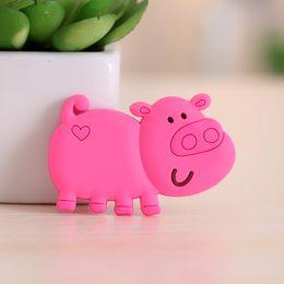 $enCountryForm.capitalKeyWord Canada - Creative cute pig Fridge Magnets for kids Small Size Silicon Gel magnetic fridge magnet Animal Magnets