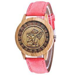 $enCountryForm.capitalKeyWord UK - Old Vintage Retro Decaration Luxury Fashion Denimr Strap Cheap Wristband Classic Women Quartz Watch Girls Valentine Gifts 2018