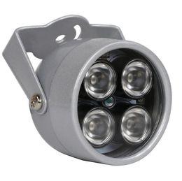 security camera light 2018 - CCTV LEDS 4 array IR led illuminator Light CCTV IR Infrared waterproof Night Vision For Security CCTV Camera ip camera d