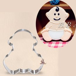 $enCountryForm.capitalKeyWord Australia - 10pcs baby child cookie cutter Metal biscuit mold Fruit die cut Sushi stamp bread mould cake pastry tool bakeware