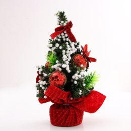mini decorations UK - Christmas Trees Festive & Party Supplies arbol de navidad albero natale arbol navidad 20cm Mini Christmas Tree destop decoration