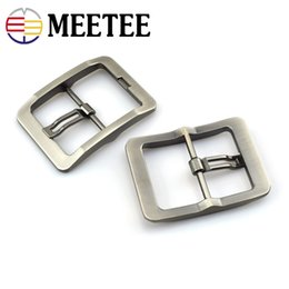 Wholesale Metal Pin Belt Buckle Clothing Strap Buckle DIY Leather belt adjuable fastener High Quality Soild Matte Gun Brushed craft Hardware